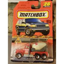Matchox Cement Truck