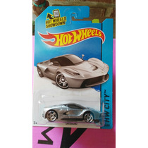 Hotwheels Laferrari Plata De Super Colección Ganalo