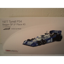 Fórmula 1 1977 Tyrrel P34 R. Peterson
