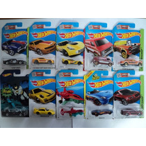 Hot Wheels Set 10 Piezas Batman Corvette Porsche Chevy Van