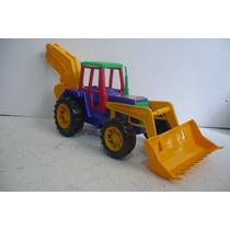 Tractor Pala Mecanica - Camioncito De Juguete Escala