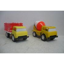 Camion Ford Set De 2 - Camioncito De Juguete Escala