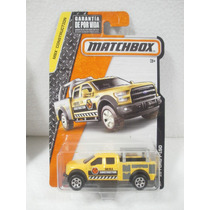Matchbox Camioneta 15 Ford F-150 Amarillo 38/125