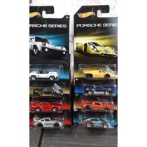 Hot Wheels Porsche Series 8 Piezas Set Colección 2015 1/64
