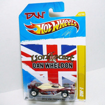 Hot Wheels, Dan Wheldon Lion Heart 2012 (llantas De Goma)!