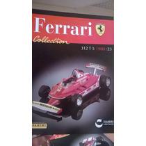 Ferrari Collection Panini 23 312 T5 1980 Gilles Villeneuve