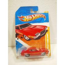 Hot Wheels 72 Ford Gran Torino Sport Rojo 2/244 2011 Tl