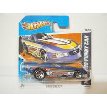 Hot Wheels Mustang Funny Car Azul 130/244 2011 Tc