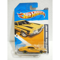Hot Wheeks 72 Ford Gran Torino Sport Amarillo 117/247 2012tl