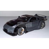 1:24 Nissan 350z Dk´s Gris Rapido Y Furioso Jada 350 Display