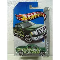 Hot Wheels Camioneta 2009 Ford F-150 Verde 38/250 2013