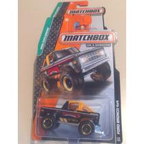 Matchbox De Coleccion 2015 Ford Bronco 4x4