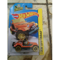 Hot Wheels Jeep Cj-7 T-hunt (naranja)