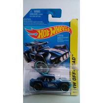 2013 Hot Wheels Bull Whip Azul #100 Hw Off-road