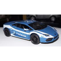 1:36 Lamborghini Huracan Lp 610-4 Polizia Kinsmart Friccion