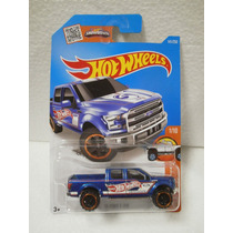 Hot Wheels Trucks Camioneta 15 Ford F-150 Azul 141/250 2016