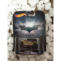 Hot Wheels Retro - The Dark Knight: Tumbler Camouflaje