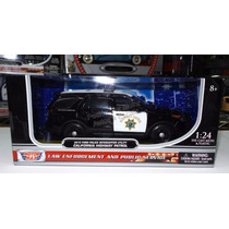 1:24 Ford Police Interceptor Utility Motor Max Explorer Caja