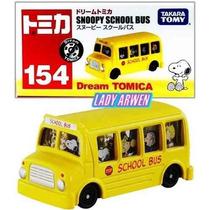 Tomica Autobus Metalico Japones Snoopy School Bus Cool Joe