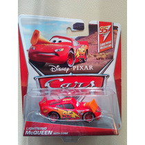 Disney Pixar Cars - Lightning Mcqueen With Cone - Nuevo - Ag