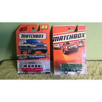 Lote 2 Matchbox 1/64, Vw Combi