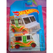 Hotwheels Carro Ambulante De Comida