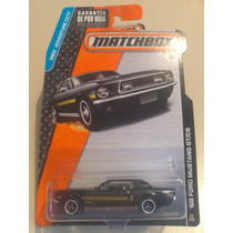 Matchbox De Coleccion 2015 Ford Mustang 68 Gt/cs Negro