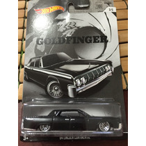 Hot Wheels 007 Goldfinger 64 Lincoln Continental