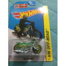 Hot Wheels Tred Shredder Verde (moto)