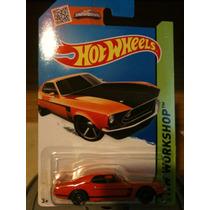´69 Ford Mustang Boss 302 Hot Wheels Nuevo