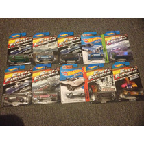 Coleccion Hot Wheels Rapido Y Furioso, Completa 10 Autos
