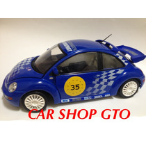 Vw New Beetle Rsi Cup Racing Marca Solido Escala 1:18