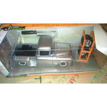 Camioneta Chevy Stepside 1955 Gris Jada Just Truc Lyly Toys
