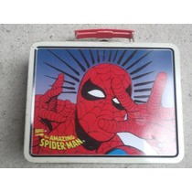 Lonchera Vintage Hombre Araña Spiderman