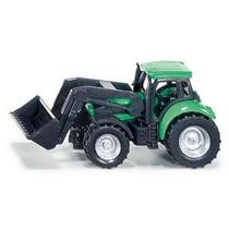 Tractor Deutz Fahr C/ Cargador Esc. 1/72 Siku. Nuevo!