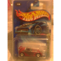 Hot Wheels Llanta De Goma Treasure Hunt 2005 Tantrum Rojo
