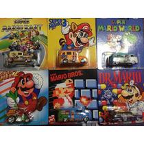Hot Wheels Serie Completa Pop Culture Mario Bross