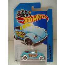 Hot Wheels Vw Volkswagen Beetle Azul 40/250 2014