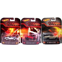 Need For Speed ¿¿hot Wheels 3 Coches Set -pontiac Gto Mustan