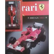 Ferrari Collection Panini 09 F2003 Michael Schumacher