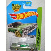 Hot Wheels Zamac 64 Lincoln Continental