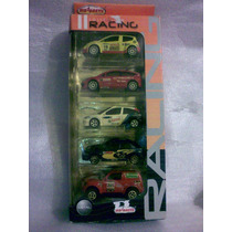 No Matchbox Lote De 9 Carritos Majorette Rally Wrc Mexico