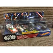 Star Wars Hot Wheels Luke Skywalker Kylo Ren Anakin Obi Wan