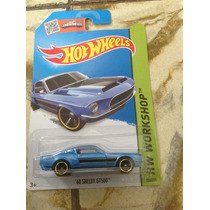 Ñu* Hot Wheels 68 Shelby Gt500 (azul) 2015