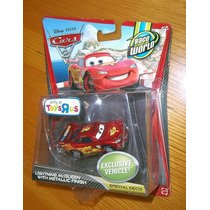 Disney Cars 2 With Metallic Finish Jeff Nigel & Mcqueen !