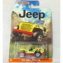 Jeep Willys 43,vehículo Matchbox Subasta $1.00 Hw