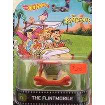 Hot Wheels Retro The Flintmobile - Llantas De Goma