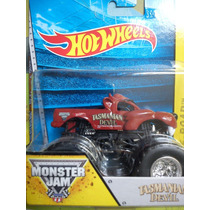 Tasmanian Devil Monster Jam Hot Wheels Camioneta Monstruo