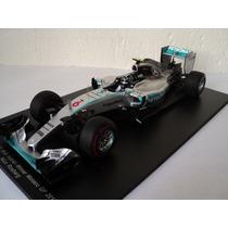 Fórmula 1 Mercedes W06 Hybrid 2015 Nico Rosbaerg