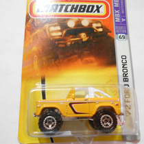 Fermar4020 *´72 Ford Bronco* Y-20 #69 Matchbox 1:64
